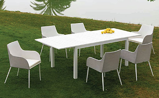 ARKIMUEBLE - Outdoor-Essgruppe Ankara
